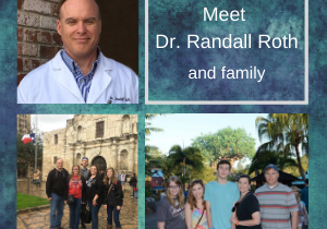 Dr. Randall Roth and family